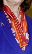 Röd-orange scarf