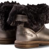 Bronze Retro Chabraque Boots Pom D´api bak