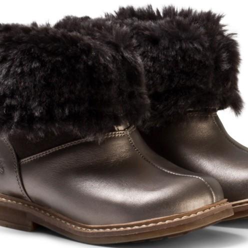 Bronze Retro Chabraque Boots Pom D´api ihopvikt