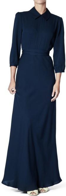 Martha Gown i Navy Greta fram