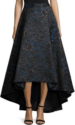 floral-jacquard-high-low-skirt-blackblue-alice-olivia-fram
