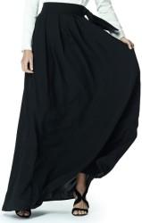'Louise' Skirt i Black Greta fram
