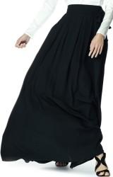 'Louise' Skirt i Black Greta fram2