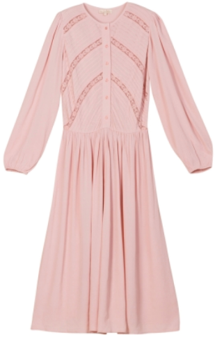 Queen Day Dress i Dusty Pink ByTiMo