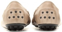 tods-taupe-dee-leather-ballerinas-bak