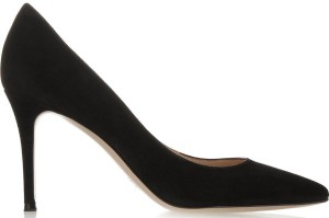 85 Suede Pumps i Black Gianvito Rossi