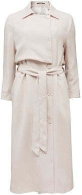 'Athina' Trench Coat i Crystal Grey Tiger of Sweden (2)