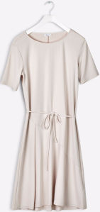 Bias Cut Jersey Dress i Chiffon Filippa K