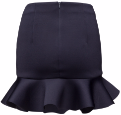 'Bini' Skirt i Dark Blue By Malina bak