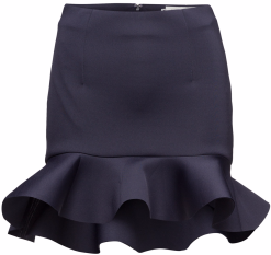 'Bini' Skirt i Dark Blue By Malina