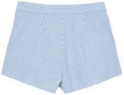 Crinkle Dreamy Oxford Shorts i Blue Lagoon GANT bak