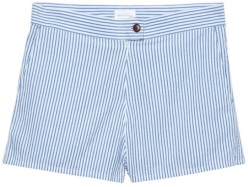 Crinkle Dreamy Oxford Shorts i Blue Lagoon GANT