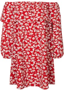 floral-bardot-dress-i-red-glamorous