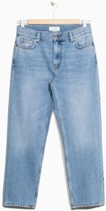 Loose Fit Ankle Denim i Blue & Other Stories