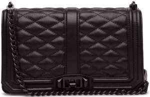 Love Crossbody Väska i BlackBlack Rebecca Minkoff