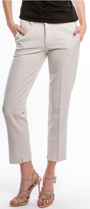 'Rosie' Pants i Beige Veronica Virta