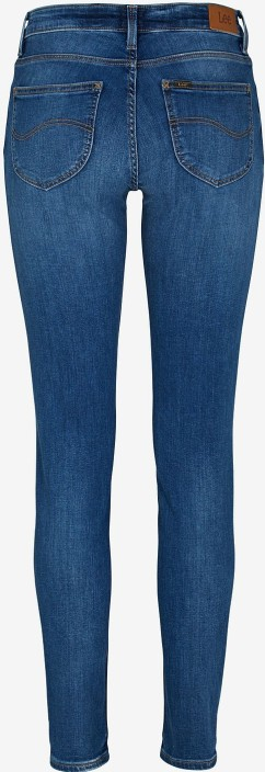 'Scarlett' Jeans Slim Fit i Mellanblå, Midtown blues Lee bak