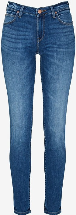 'Scarlett' Jeans Slim Fit i Mellanblå, Midtown blues Lee