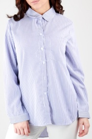Stripe Shirt i Light Blue Stylelevel