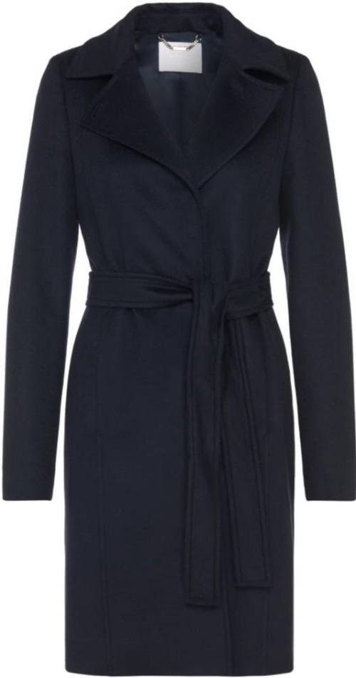 Canika1 Wool With Wrap Belt Coat Hugo Boss