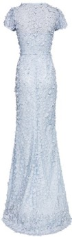 'Gigi' Dress i 3D Pale Blue Ida Sjöstedt bak