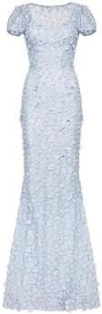 'Gigi' Dress i 3D Pale Blue Ida Sjöstedt fram